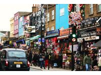 Space to let for tattoo and piercing studio in Camden high street