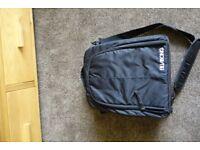 Billabong black camera bag