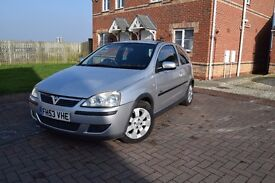Vauxhall Corsa C SXi 1.2 2004 year New Tires, Very good condition