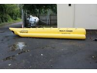Jobe Heavy Duty Multi-Rider - 8 Person Banana Boat - Inflatable - Boating - Waterskiing
