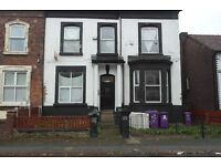 38A Balmoral Road, Kensington Liverpool 1 Bed Flat with DG & electric wall heaters. DSS welcome