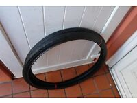 Mountain Bike Tyres 26 x 1.5 Fast Tread Pattern For Road and Cycle Track Pair of New Tyres £15