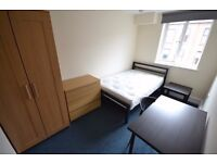 Double room 2 x bathrooms Hyson Green Nottingham All bills included Monthly contract NO FEES