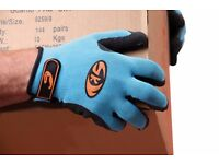 hand protection work gloves industrial builders gardening warehouse oil size 10