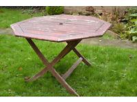 Wooden Outdoor Garden Table