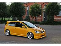 Honda Civic - 1.6 Vtec EP2 Sport - 2004 - Rio Yellow Pearl - S2K Paint - DC5 Recaro Seats