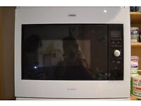 SECOND HAND AEG MICROMAT BUILT-IN MICROWAVE, white