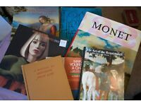 Art and Design Books including Monet, Picasso, National Gallery sold as a bulk job lot