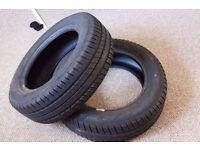 2x Tyres Debica Presto 195/60R15 (195 / 60 R15)