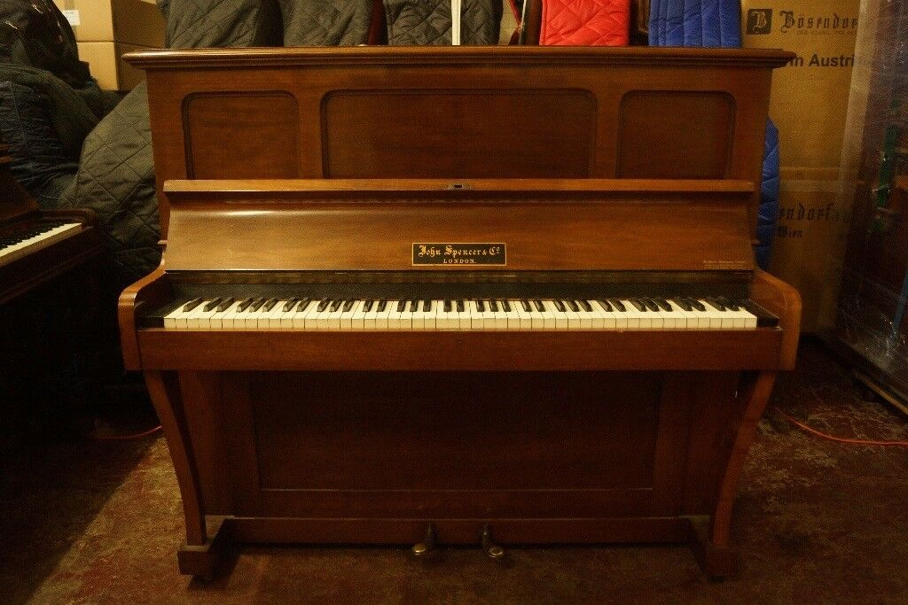 Old Upright Piano For Display Or Furniture Prop Use Can Deliver