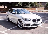 BMW 1 SERIES 1.5 118i M Sport Sports Hatch 5dr (start/stop) White QUICK SALE £13600 ono