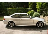 BMW 320Cd M-Sport 2 Door Coupe (E46) 2004 (04) Silver Manual Diesel Low Mileage