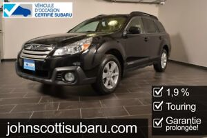 2014 Subaru Outback 2.5i Touring CVT 1.9% extended warranty