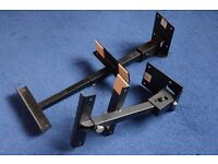 Speaker Brackets - Pair - Wall Mounting and Adjustable