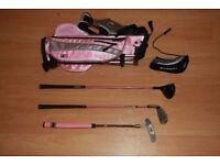 US Kids Golf Clubs Size 39 Pink
