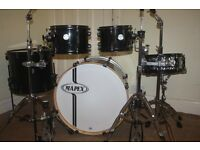 Mapex Horizon Transparent Black 5 Piece Drum Kit - DRUMS ONLY