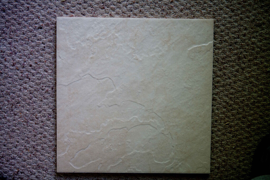 27 Cream floor tilesin Romsey, HampshireGumtree - 27 Cream floor tiles. 33 x 33cm 8mm thick. Matt and textured. 3 sq metres