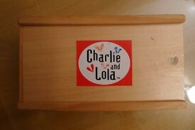 Charlie and Lola dominoes game for children, very good condition