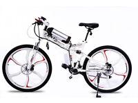 BRAND NEW Electric Folding Bike Go Go JEDI WHITE - PRE ORDER