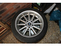"Genuine BMW / BBS 17"" Alloy wheel (only 1)"