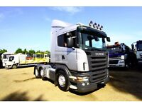 2006 SCANIA R420 6X2 TRACTOR UNIT FOR SALE MANUAL GEARBOX VOLVO FH TIPPER DAF XF TIPPER IVECO
