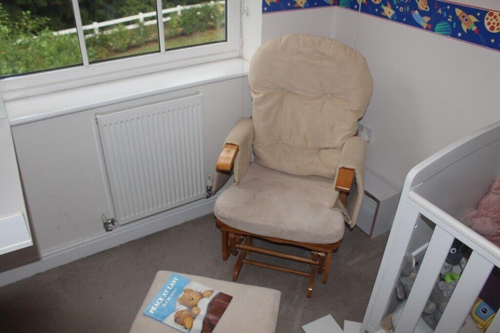 quality design 3b026 4ecb5 Habebe Glider Chair & Stool. | in Berkhamsted, Hertfordshire | Gumtree