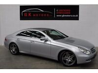 MERCEDES CLS 350D 7G-TRONIC 4 DOOR ** FULL SERVICE HISTORY ** MOT ** NATIONWIDE WARRANTY * 100% HPI