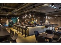 Fun hard working bar tenders required for Drake and Morgan flagship venue in Kings Cross