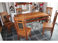 Set of dining/sitting room indian furnitures