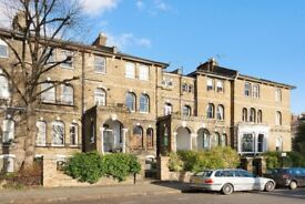 BEAUTIFUL PERIOD 1ST FLOOR 2 BED FLAT ON CAMDEN SQUARE-£550PW -MUST SEE