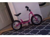 PUKY Learner Balance biked Pink