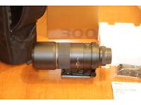 Nikon 300mm F/4 D AF-S NIKKOR IF ED Prime Telephoto Lens