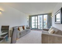 STUNNING ONE BED ONE BATH FLAT ON 19th flr, furnished, concierge gym and river views Neutron Tower