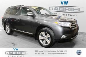 2013 Toyota Highlander V6 4WD 7 Passager CUIR, TOIT OUVRANT, SEG