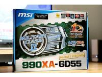 MSI 990XA-GD55 AM3/AM3+ motherboard (version 4.0 )