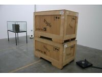Cheap storage in safe, clean and dry location. Ideal for household items and artworks.