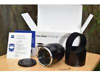 Zeiss planar 100mm f2 macro Nikon fZF2
