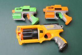 Nerf Guns Bundle - including Nerf N-Strike Maverick and darts