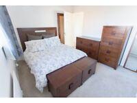 Full wooden master bedroom furniture