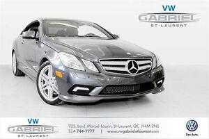 2011 Mercedes-Benz E-Class E550 Coupe V8! FINANCEMENT DISPONIBLE