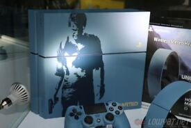LIMITED EDITION PS4 1TB BLUE & 120 GAMES & 8 MONTHS ONLINE