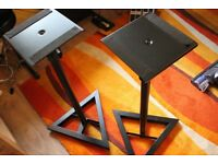 """""""Jamstands"""" monitor stands"""