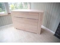 Single drawer sideboard