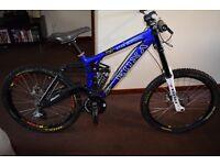 2006 Kona Stab Supreme Downhill Bike