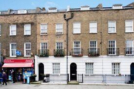 Spacious duplex 3 bedroom (no lounge) 2 bathroom flat w/ garden & patio in the heart of Kings Cross