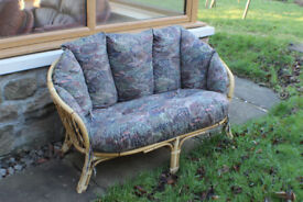 SOFA 2-Seater Conservatory Sofa. Excellent condition.