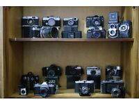 Old Antique & Vintage Collectable Cameras wanted cash paid any make or condition photography