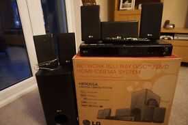 LG Network Blu-Ray Home Cinema System - HB905SA