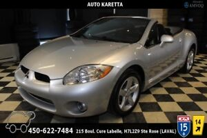 2008 Mitsubishi Eclipse SPYDER GS CONVERTIBLE AUTOMATIC, CLEAN C