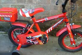 "Apollo Firechief Kids 12"" bike in great condition"